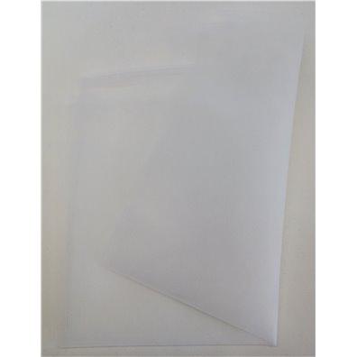 Fin Tyl, hvid ca. 50x70cm.
