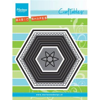 Marianne Design Dies - Basic Set: Hexagon