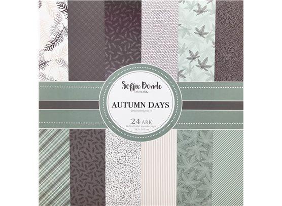 Soffie Bonde Denmark - Autumn Days Blok - 30,5 x 30,5 cm