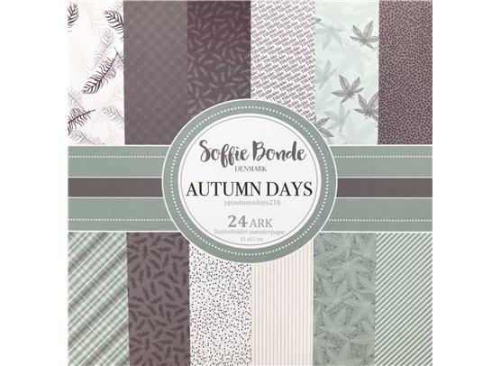 Soffie Bonde Denmark - Autumn Days Blok - 15 x 15 cm