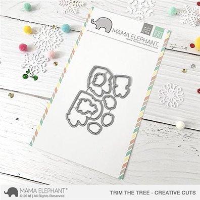Mama Elephant Creative Cuts - Trim the Tree