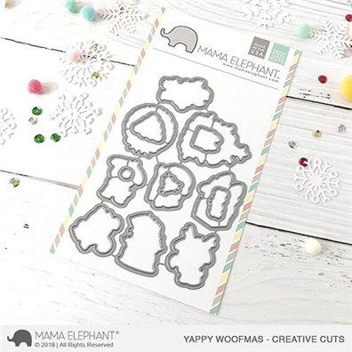 Mama Elephant Creative Cuts - Yappy Woofmas