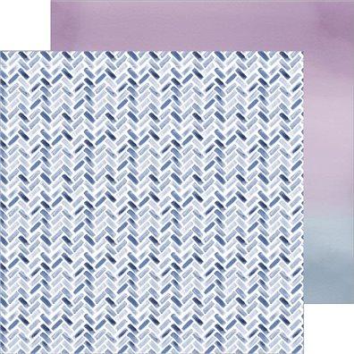 Indigo Hills 2 - Eminence - Mønsterpapir fra Pinkfresh Studio