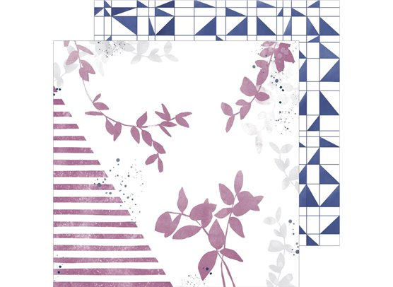 Indigo Hills 2 - Highland - Mønsterpapir fra Pinkfresh Studio