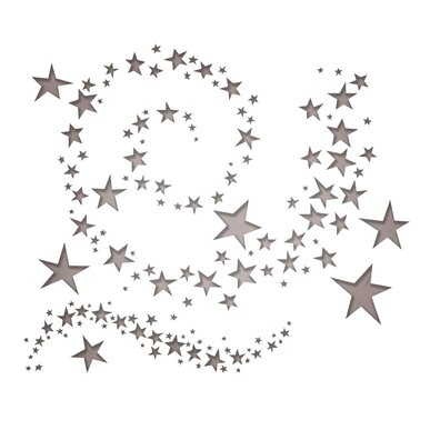Sizzix Thinlits Dies - Swirling Stars