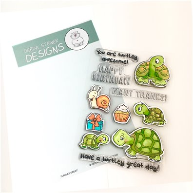 Gerda Steiner Designs Clear Stamp - Turtley Great