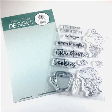 Gerda Steiner Designs Clear Stamp - Smell Like Christmas
