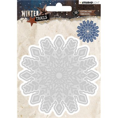 Studio Light Dies - Winter Trails Snowflake