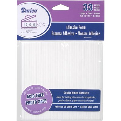 Darice Double-sided Foam Sticky Strips