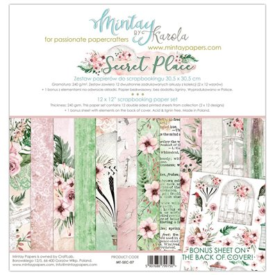 Mintay By Karola Secret Place Paper Pack