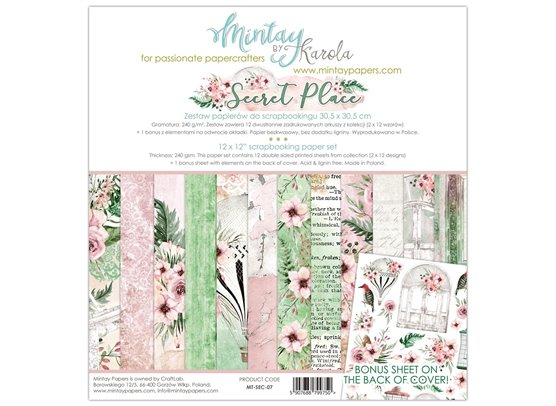 Mintay By Karola Secret Place Paper Pack