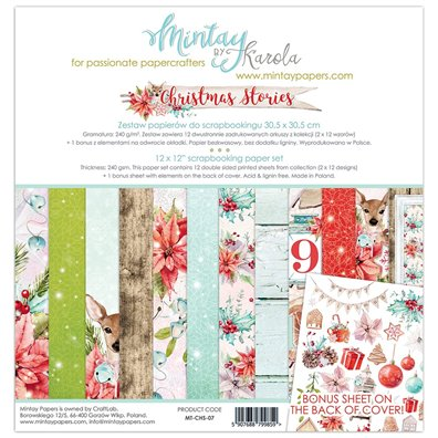 Mintay By Karola Christmas Stories Paper Pack