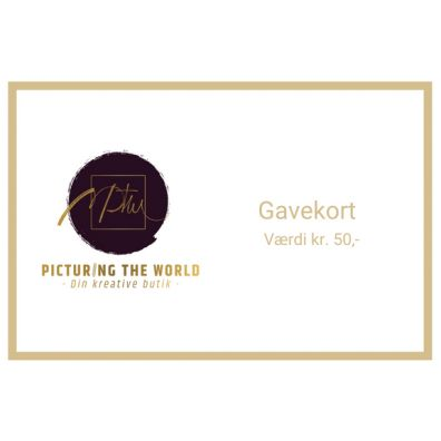 Gavekort - 50 kr.