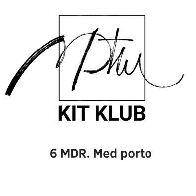 PTW Kit-klub - 6 mdr. med porto