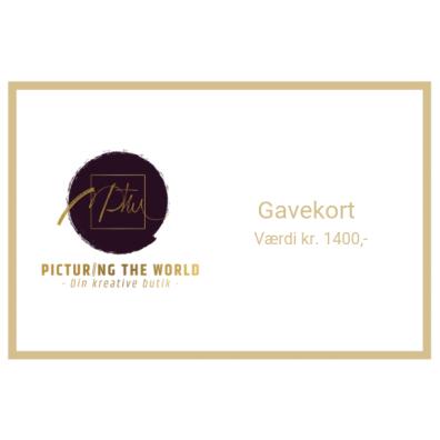 Gavekort - 1400 kr.