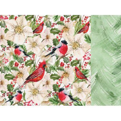 Peace & Joy - Frolic mønsterpapir fra Kaiser Craft