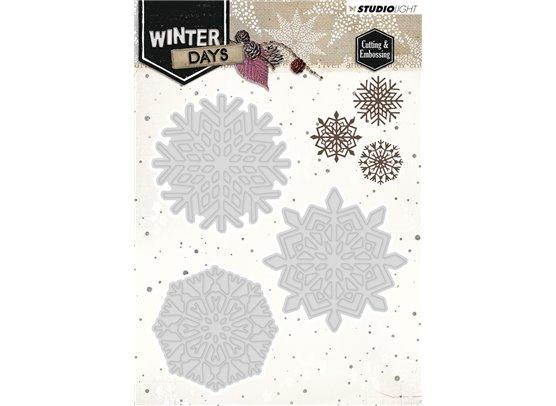 Studio Light Dies - Winter Days Snowflakes