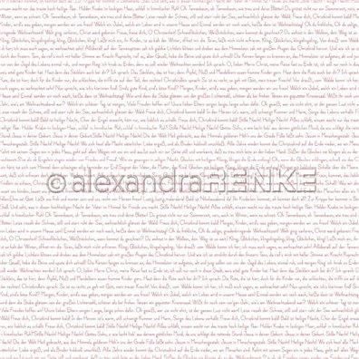 Red Christmas - Red Little Christmas International - Mønsterpapir fra Alexandra Renke