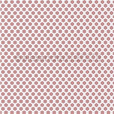 Red Christmas - Red Christmas Stars - Mønsterpapir fra Alexandra Renke