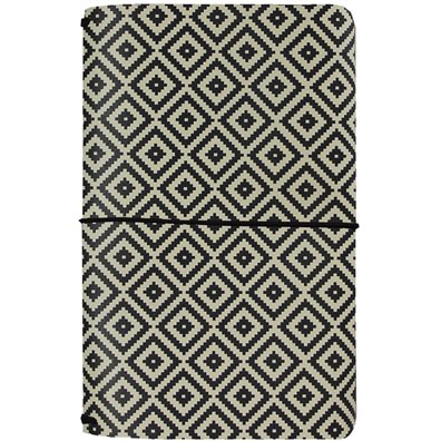 Carpe Diem Traveler's Notebook - Aztec Black & White