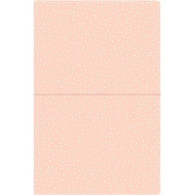Carpe Diem Traveler's Notebook - Blush Speckle