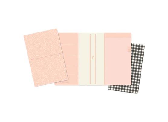 Carpe Diem Traveler's Notebook - Blush Speckle