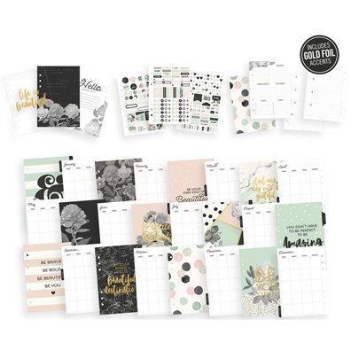 Carpe Diem Beautiful A5 Planner Boxed Set Robin's Egg Simple Stories