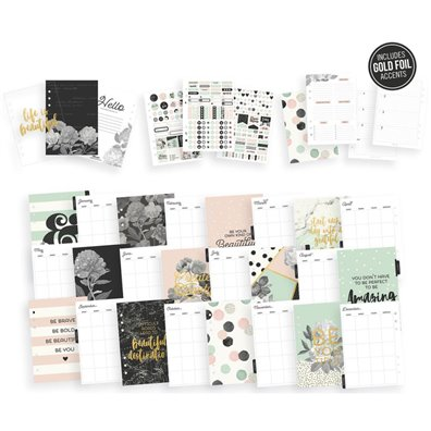 Carpe Diem Beautiful A5 Planner Boxed Set Blush Simple Stories