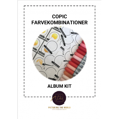 Copic Farvekombinationer - Album Kit