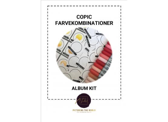 Copic Farvekombinationer - Album Kit