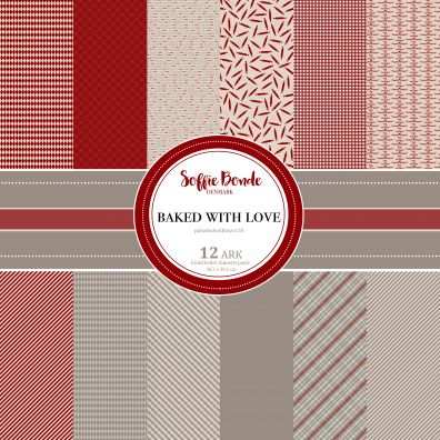 Soffie Bonde Denmark - Baked with Love Blok - 30,5 x 30,5 cm