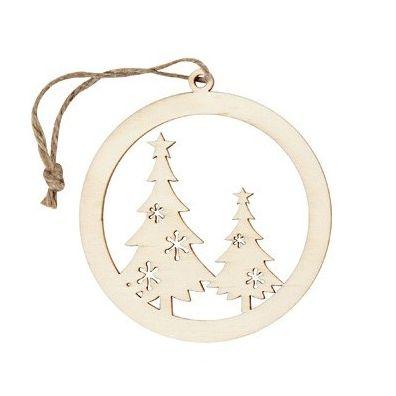 Træ ophæng - Cirkler-Juletræer
