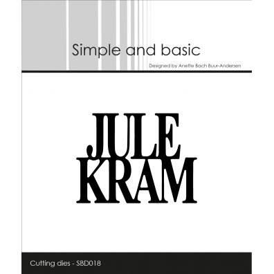 Simple and basic dies - Julekram