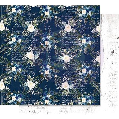 Georgia Blues - Midnight Blues Mønsterpapir fra Prima