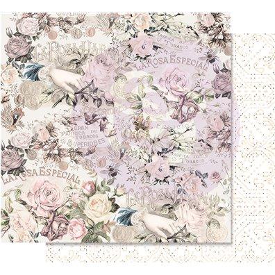 Lavender Frost - Royal Bidding Mønsterpapir fra Prima