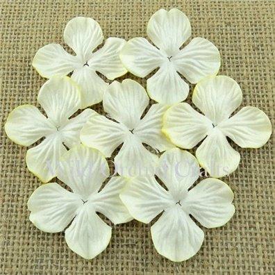 Hydrangea Blooms Ivory 25 mm