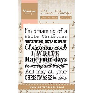 Marianne Design Clear Stamp Christmas Carol