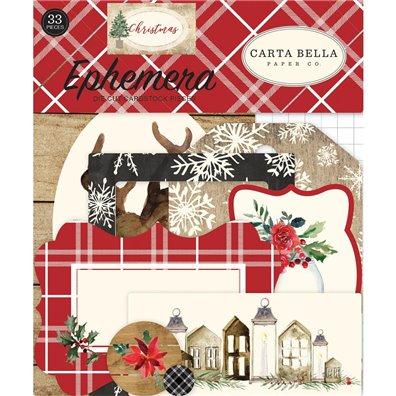 Carta Bella Christmas Ephemera Die cuts Pack
