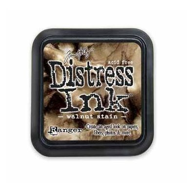 Distress Ink Pad - Walnut Stain