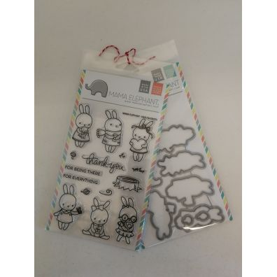 Mama Elephant Pix's Favorites stempel og dies sampak