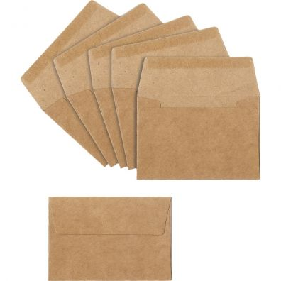 Sizzix Kraft mini kuverter 10,16 x 6,99 cm