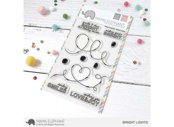 Mama Elephant Clear Stamps - Bright Lights
