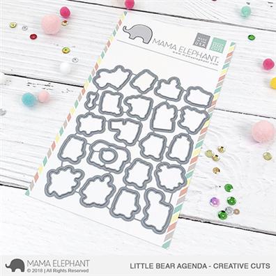 Mama Elephant Creative Cuts - Little Bear Agenda