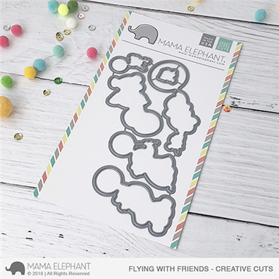 Mama Elephant Creative Cuts - Flying With Friends