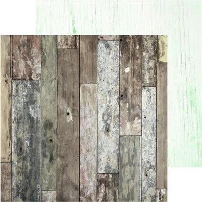 Memory Lane - Raw Wood - Mønsterpapir fra KaiserCraft