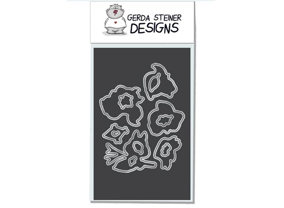 Gerda Steiner Designs Happy Fall! stempel og dies sampak