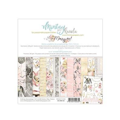 Mintay By Karola Marry Me 6x6 Paper Pad