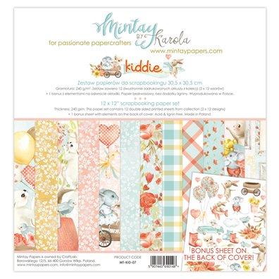 Mintay By Karola Kiddie 12x12 Paper Set