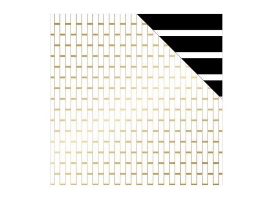 Wanderlust - Stripes - Mønsterpapir fra Teresa Collins