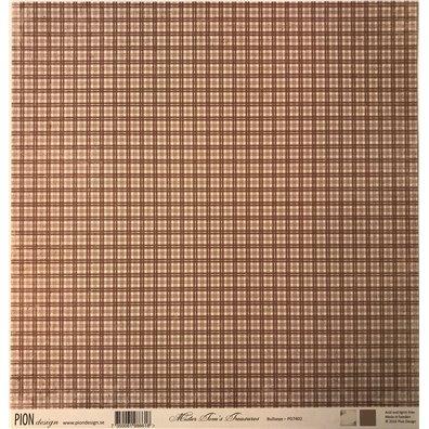 Mister Tom's Treasures – Bullseye mønsterpapir fra Pion Design